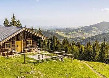 Berghut in de Alpen - Aanbieding vriendenprijsreizen