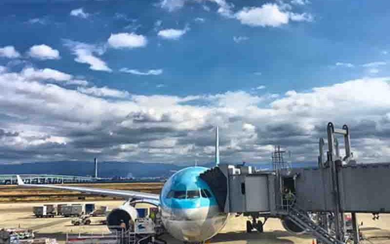 Aan boord gaan van je vlucht in een KLM airbus - Vriendenprijsreizen
